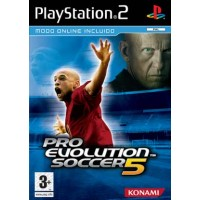 PS2 PRO EVOLUTION SOCCER 5 - USADO SEM CAIXA