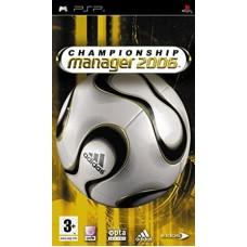 PSP CHAMPIONSHIP MANAGER 2006 - USADO
