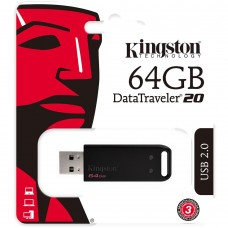 PEN DRIVE KINGSTON 64GB DATATRAVELER 20 USB 2.0 -DT20