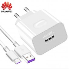 CARREGADOR HUAWEI SUPERCHARGE USB-C  9V 2A BRANCO