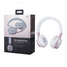 HEADPHONES BTS BLUETOOTH K3608 ROSA MTK