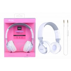 SUPERBASS WIRED HEADPHONES COM MICROFONE K3411 BRANCO MTK