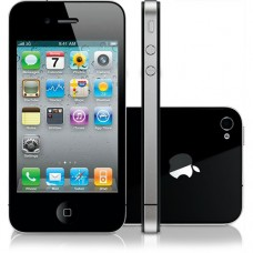 APPLE IPHONE 4S 8GB LIVRE PRETO  -USADO