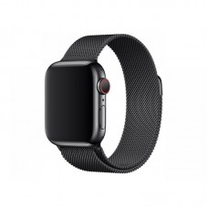 BRACELETE PARA APPLE WATCH 38/40MM METAL MILANESE LOOP BLACK COMPATÍVEL