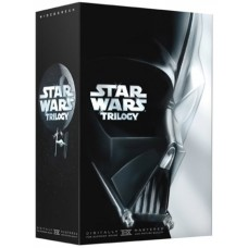 FILME DVD STAR WARS TRILOGY - USADO
