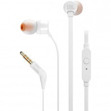 AURICULARES IN EAR HEADPHONES T110 BRANCO JBL