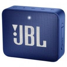 COLUNA PORTATIL GO 2 BLUETOOTH COM MICROFONE 5H AZUL JBL