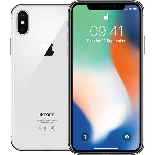 APPLE IPHONE X 64GB LIVRE SILVER (G5) - USADO