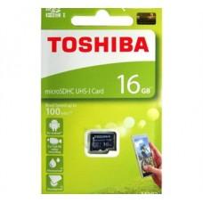 CARTÃO MEMORIA 16GB MICROSDHC  TOSHIBA