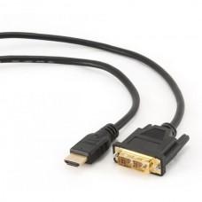 ADAPTADOR HDMI MACHO A DVI-D MACHO 1.8M PRETO EEE
