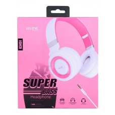 SUPER BASS HEADPHONES K3451 ROSA MTK