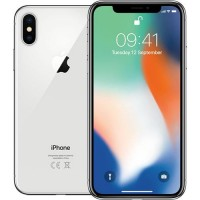 APPLE IPHONE X 64GB LIVRE SILVER (R4) - USADO (GRADE A)