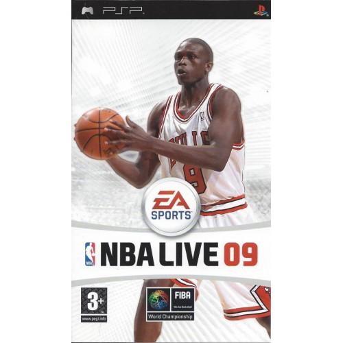 PSP NBA LIVE 09  -  USADO SEM CAIXA