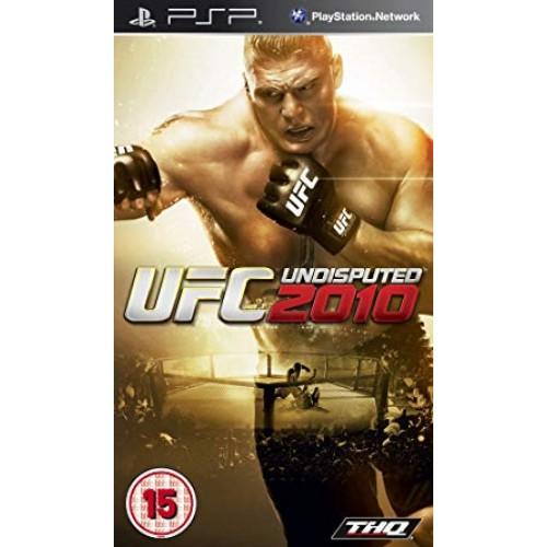 PSP UFC UNDISPUTED 2010-USADO SEM CAIXA