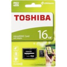 CARTÃO MEMÓRIA MICROSDHC 16GB M102 TOSHIBA