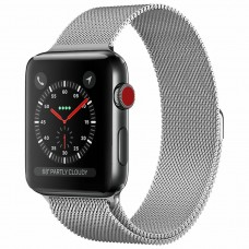 BRACELETE PARA APPLE WATCH 42/44MM METAL MILANESE COMPATÍVEL