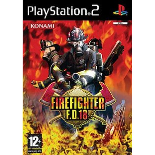 PS2 FIREFIGHTER FD 18 - USADO