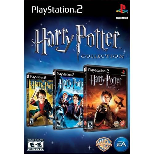 PS2 COLEÇÃO HARRY POTTER - USADO