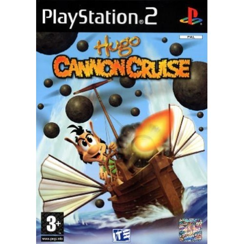 PS2 HUGO CANNON CRUISE - USADO SEM CAIXA