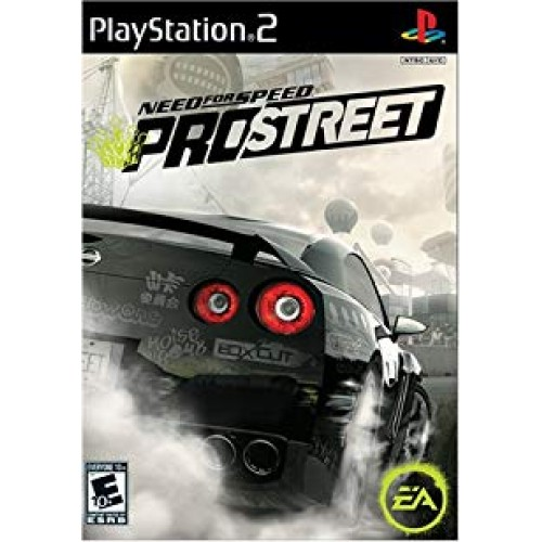 PS2 NEED FOR SPEED PROSTREET - USADO SEM CAIXA