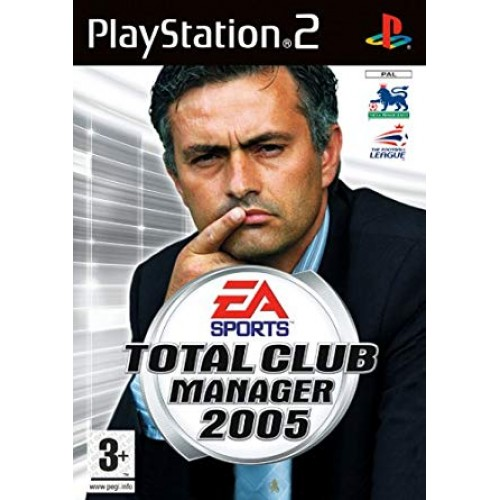 PS2 TOTAL CLUB MANAGER 2005- USADO