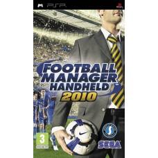 PSP FOOTBALL MANAGER HANDHELD 2010 - USADO SEM CAIXA