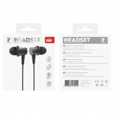 HEADSET 3D STEREO IN-EAR HEADPHONES C6002 PRETO LT PLUS