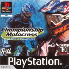 PS1 CHAMPIONSHIP MOTOCROSS FEATURING RICKY CARMICHAEL - USADO