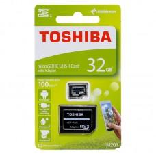 CARTÃO MEMORIA 32GB MICROSDHC M203 TOSHIBA