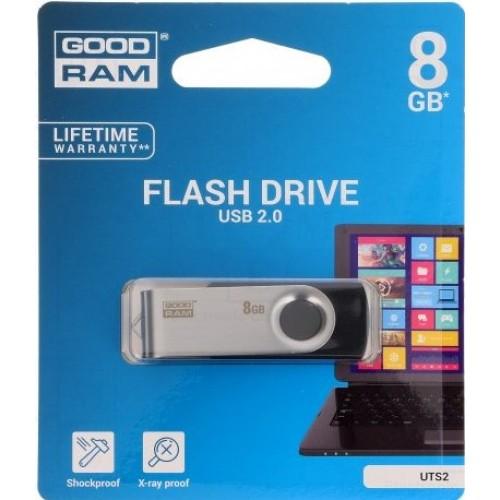 PEN DRIVE GOODRAM 8GB TWISTER USB 2.0