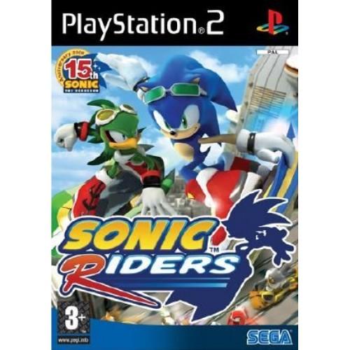 PS2 SONIC RIDERS - USADO SEM CAIXA