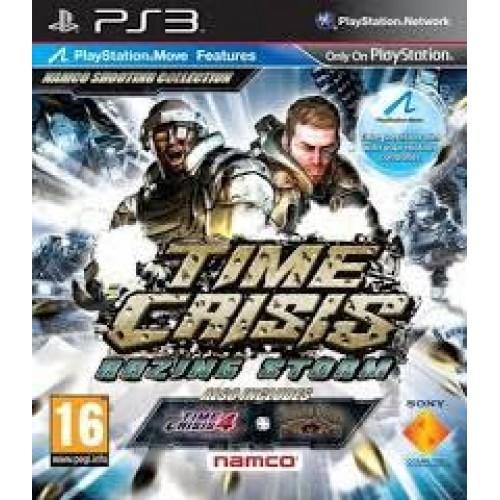 PS3 TIME CRISIS RAZING STORM - USADO
