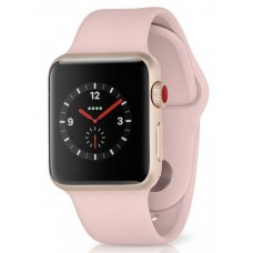 WATCH SERIES 3 (ALUMINUM, GPS, 38 MM)  GOLD/SPORT BAND PINK SAND (A3) - USADO
