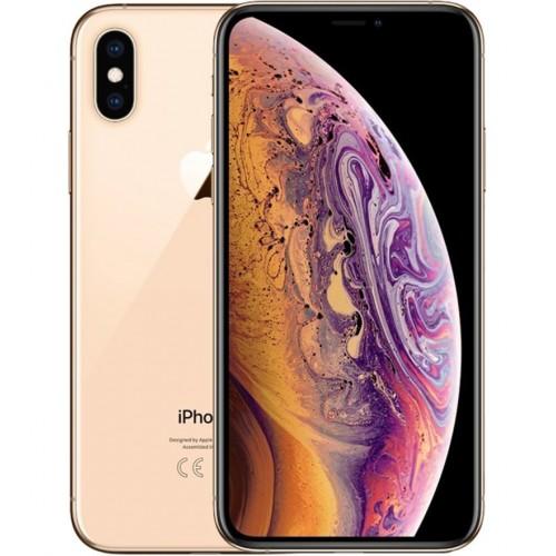 APPLE IPHONE XS MAX 64GB LIVRE GOLD  (A1) - USADO
