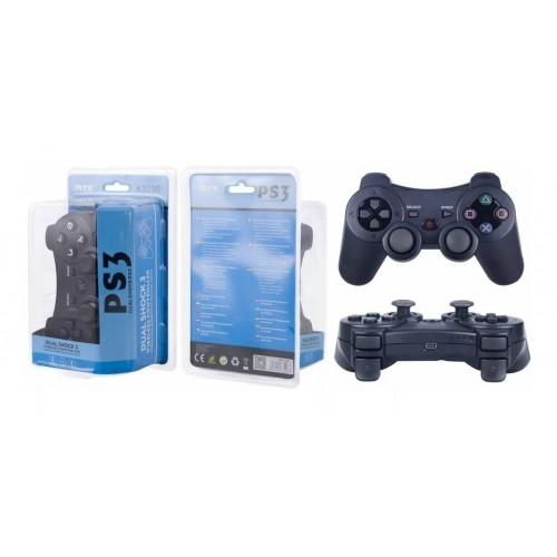 PS3 COMANDO DUALSHOCK 3 SEM FIOS COMPATIVEL K3296  PRETO MTK