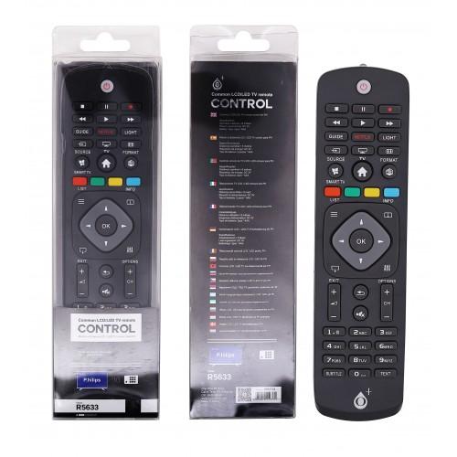 COMANDO TV UNIVERSAL PARA PHILIPS R5633 PRETO ONEPLUS