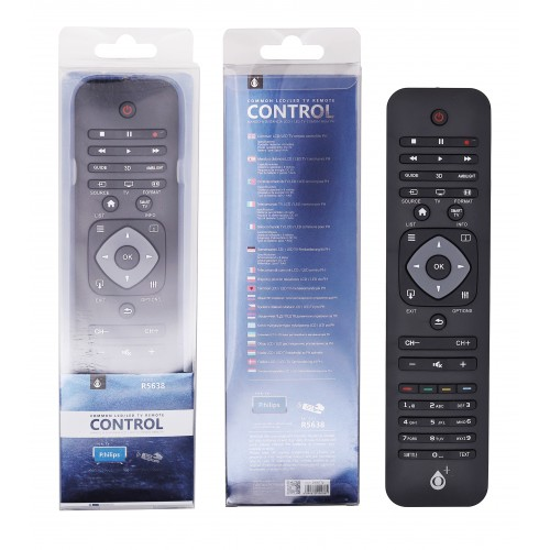 COMANDO TV UNIVERSAL PARA PHILIPS R5638 PRETO ONEPLUS