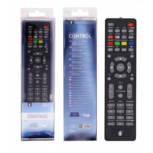 COMANDO TV UNIVERSAL R5639 PRETO ONEPLUS