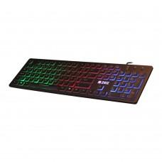 TECLADO RETRO-ILUMINADO RGB KI101 USB 2.0 2HIX