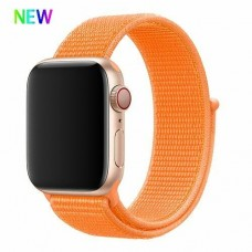 BRACELETE LOOP DESPORTIVA APPLE WATCH 40MM 42MM LARANJA COMPATIVEL