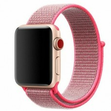 BRACELETE LOOP DESPORTIVA APPLE WATCH 40MM 42MM ROSA COMPATIVEL
