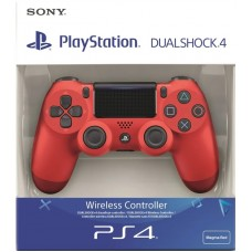 PS4 COMANDO DUALSHOCK MAGMA RED V2 (WIRELESS)