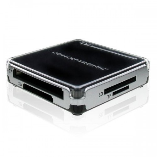 ALL-IN - ONE CARD READER USB 2.0 CONCEPTRONIC