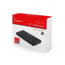 CAIXA EXTERNA HDD GEMBIRD 2.5? SATA USB 3.0 PRETA