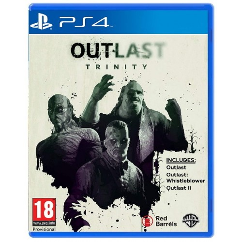 PS4 OUTLAST TRINITY - USADO
