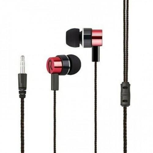 AURICULARES IN-EAR Z8TECH SUPER BASS RED