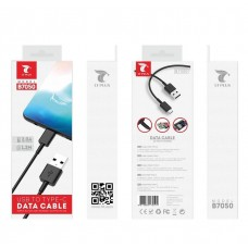 USB TO TYPE-C DATA CABLE 1.2M B7050 BLACK LT PLUS