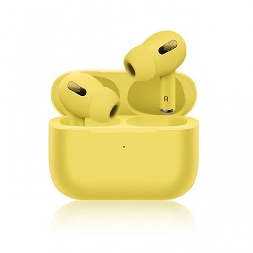 NEW INPODS PRO BLUETOOTH WITH CHARGING BOX YELLOW