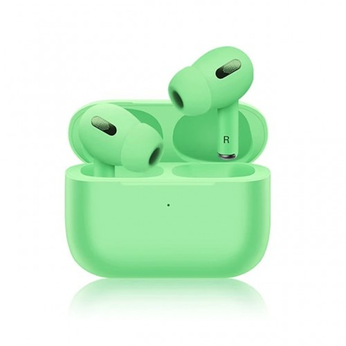 NEW INPODS PRO BLUETOOTH WITH CHARGING BOX GREEN