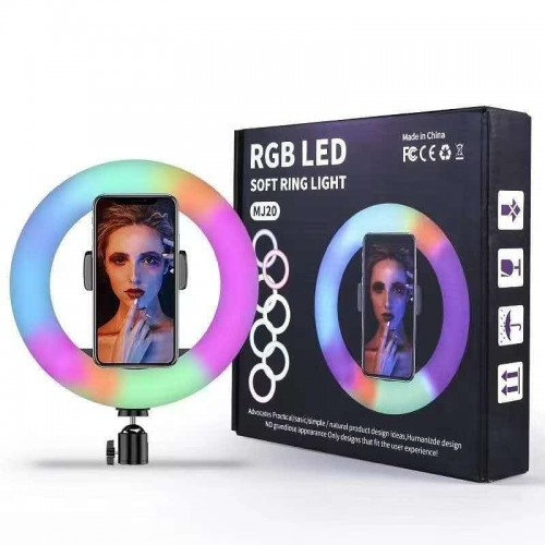 RING LIGHT RGB LED PEQUENO MJ20